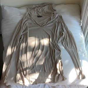 Tan soft lightweight sweater